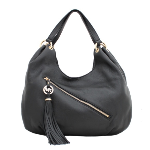 aa12904138e9 MICHAEL Michael Kors Bags | Michael Kors Charm Tassel Large Shoulder ...